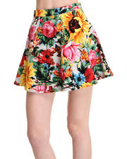 -LOOKBOOKS- - Sunrise Blossom Pleated Skirt