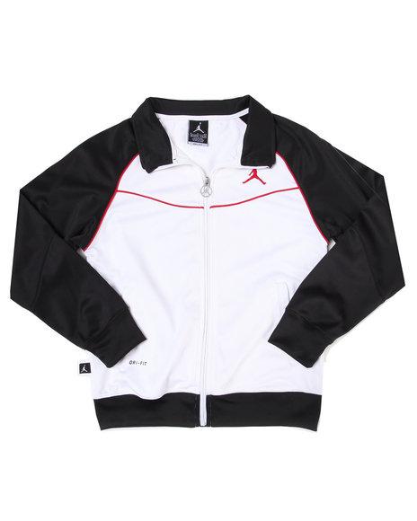 Air Jordan Boys White Jumpman Classic Jacket (8-20)