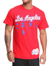 Men - Los Angeles Clippers Corner Tee