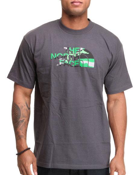 The North Face Men Grey Camo Logo Tee
