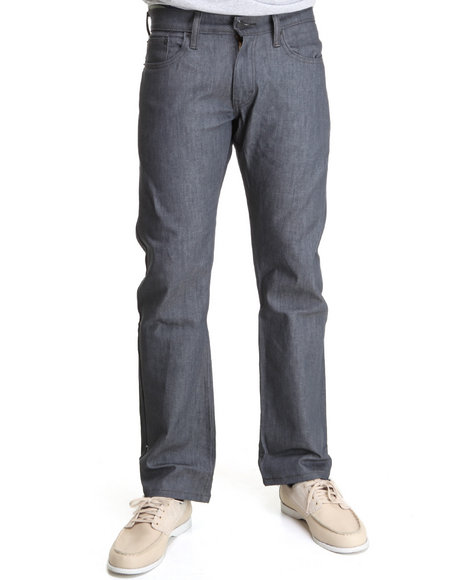 Levi's - Men Grey 514 Slim Straight Fit Rigid Grey Jeans