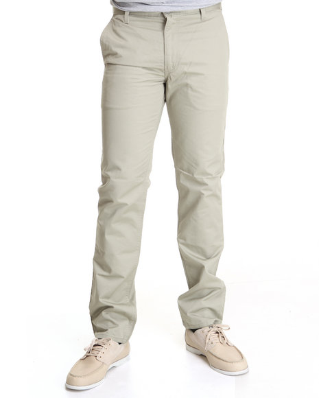 Levi's Khaki 511 Slim Fit Atomic Grey Hybrid Twill Pants