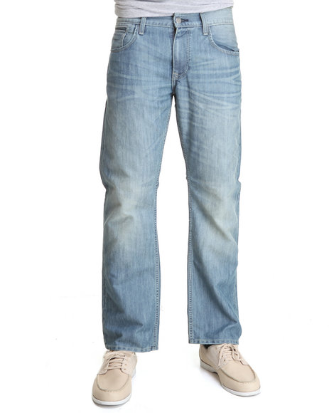 Levi's Men  514 Slim Straight Leveler Light Poly Jeans