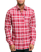 Men - Dean Long Sleeve Woven Shirt