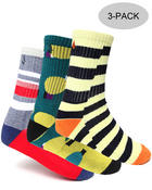 The Skate Shop - Patterns 3-Pack Socks