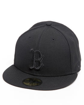 New Era - BOSTON RED SOX ALL BLACK EVERYTHING 5950 FITTED HAT