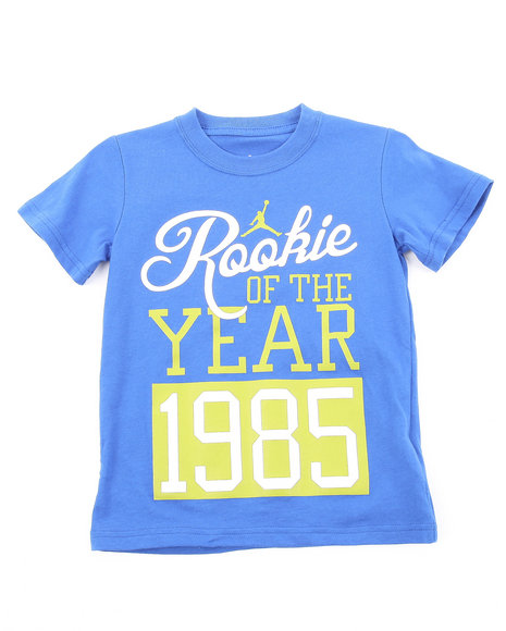 Air Jordan Boys Blue Rookie Of The Year Tee (4-7)