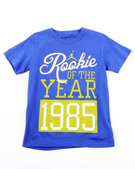 Air Jordan Boys Blue Rookie Of The Year Tee (8-20)