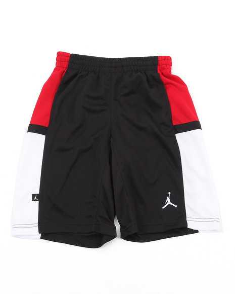 Air Jordan Boys Black Bankroll Shorts (8-20)