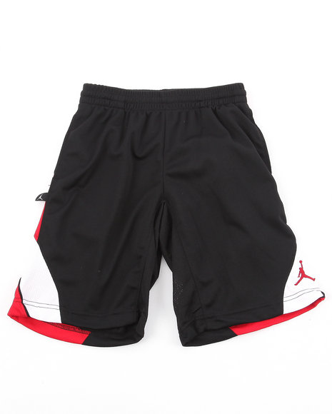 Air Jordan Boys Black Epic Tricot Shorts (8-20)