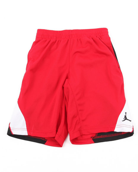 Air Jordan Boys Red Epic Tricot Shorts (8-20)