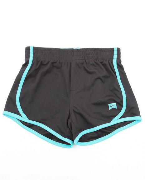 Nike Girls Black Mesh Tempo Shorts (7-16)