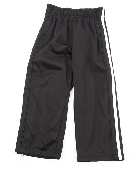 Arcade Styles - Boys Black,White Tricot Track Pant (4-7)