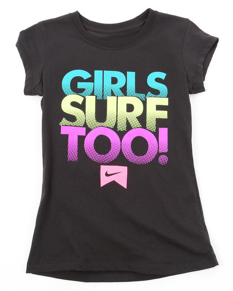 Nike Girls Black Girls Surf Too (7-16)