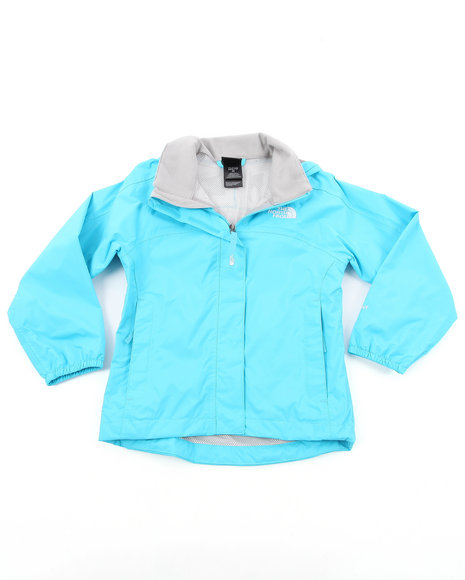The North Face Girls Light Blue Resolve Jacket (4-16)