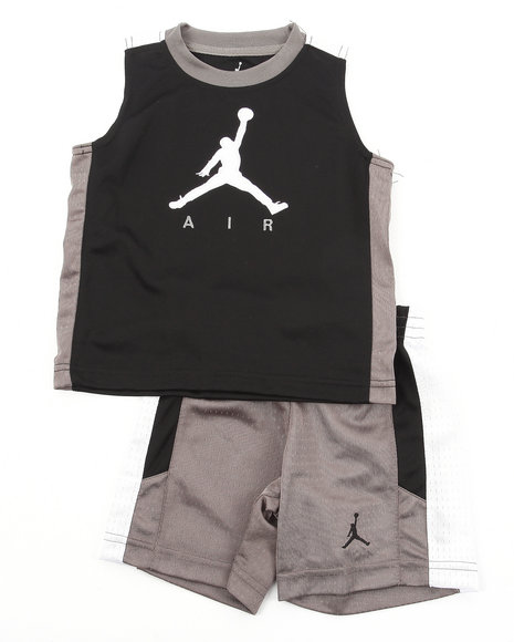 Air Jordan Boys Grey Aj 23 Classic Jersey Set (4-7)