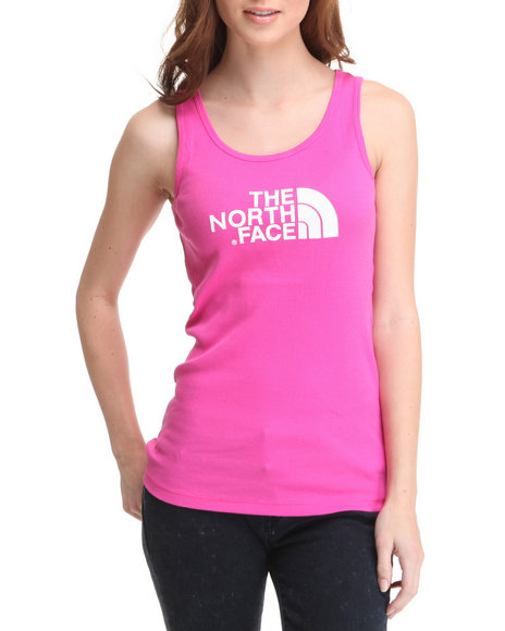The North Face Women Pink Half Dome Tank