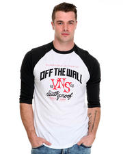 Men - Deathproof Raglan 3/4 Sleeve Tee