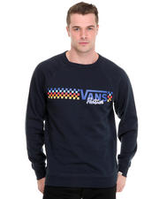Men - Native Check Crew Sweatshirt