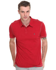 -FEATURES- - Whip Stitch Cotton Polo