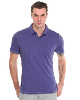 John Varvatos U.S.A. - Whip Stitch Cotton Polo