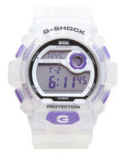 G-Shock by Casio - Limited Edition DGK Watch w/ Clear Band w/ Clear Face and Purple Accents