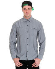 The Hundreds - Yew Chambray Button-down