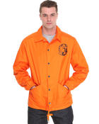 Ur-ID 136845 Billionaire Boys Club Men Sideline Nylon Jacket Orange X-Large