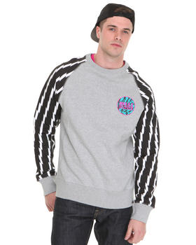 Billionaire Boys Club - L/S Zenon Crewneck Sweatshirt w/ Hidden Side Zip PCKT
