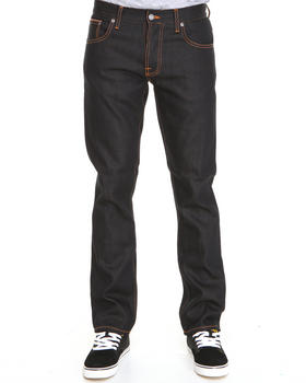 Nudie Jeans - Grim Tim Organic Dry Brown Selvedge Jeans