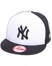 Accessories - New York Yankees Tri Block Snapback Hat
