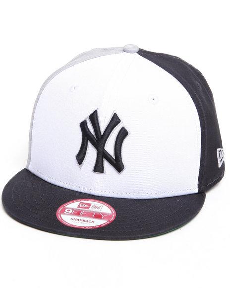 New Era - Men Multi New York Yankees Tri Block Snapback Hat