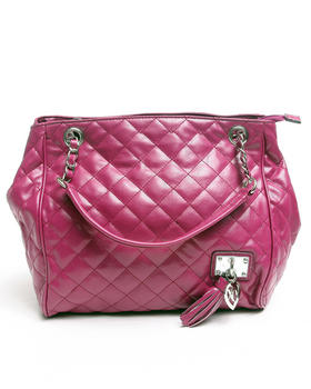 XOXO - Wink Double Handle Quilted Bag