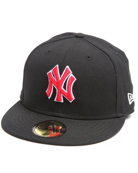 New Era - Men Black New York Yankees Mlb Basic 5950 Fitted Hat