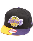 Hats - Los Angeles Lakers Split 'EM Snapback hat