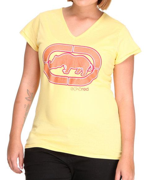 Ecko Red Women Yellow v Neck