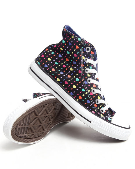 Converse Women Black Chuck Taylor All Star Sneakers