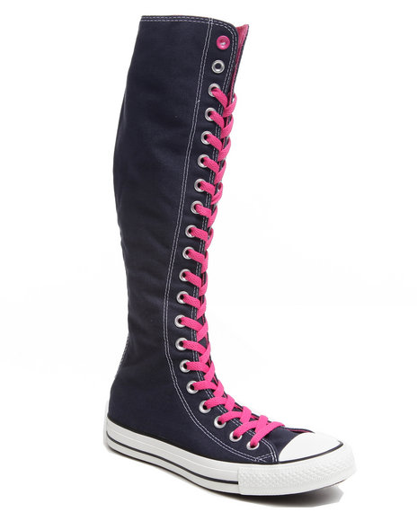 Converse Women Navy Chuck Taylor All Star Xx Hi Sneakers