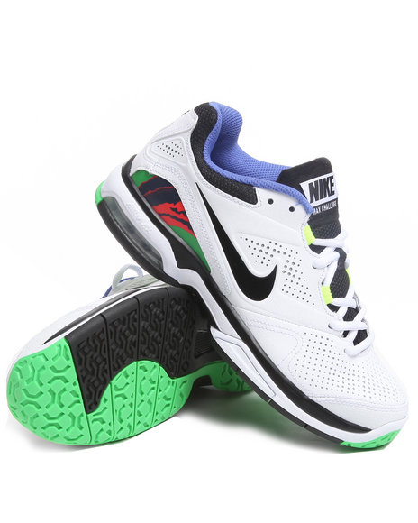 Nike Men White Air Max Challenge Sneakers