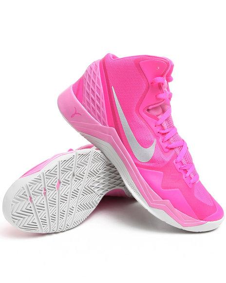 Nike Men Pink Nike Zoom Hyperdisrupter Sneakers