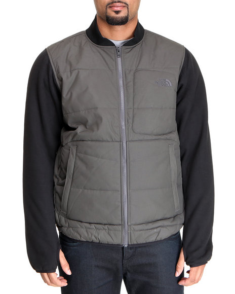 The North Face - Men Grey Insulated Allerten Jacket