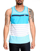 Men - Engineered Striped Tank