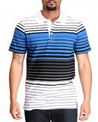 Men - Jersey Striped Polo
