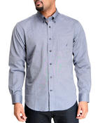 Nautica - Mercerized Long Sleeve Button-Down