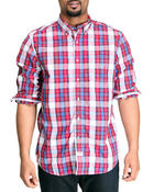 Nautica - Vineyard Poplin Long Sleeve Button-Down