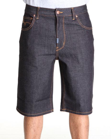 LRG Men Raw Wash Core Collection Denim Shorts