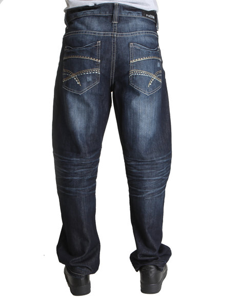 Southpole Men Dark Blue Premium Denim