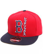 Men - Boston Red Sox Tokyo Pop Snapback hat