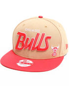 Men - Chicago Bulls Team Script snapback hat