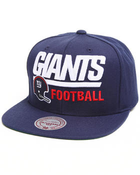 Mitchell & Ness - New York Giants NFL Throwbacks Blocker Snapback Hat
